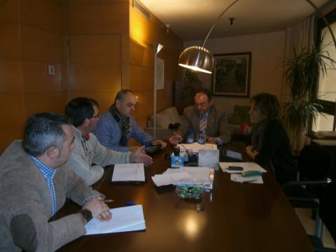 Reunió sindicats agraris