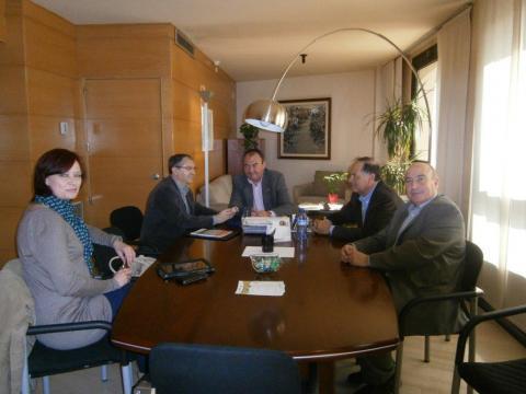 Reunió director Serveis Territorials de Governació