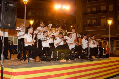 Inauguració de la 9a edició de la volta comarcal de sardanes