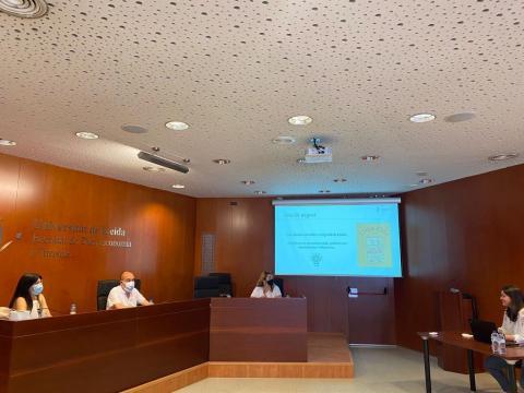 El Tribunal extraordinari dels Treballs Final del Grau (TFG) del Grau de Turisme de la Facultat de Dret, Economia i Turisme de la Universitat de Lleida