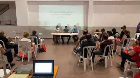 El cap de Promoció Econòmica del Consell va participar en la cloenda del curs, que ha comptat amb 65 empreses