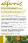2a edició Camins de fruita dolça al Segrià - ALFARRÀS